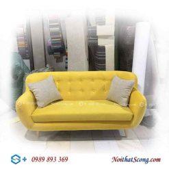ghế sofa đẹp nỉ thuyền
