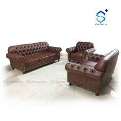 Bộ Ghế Sofa Da Đẹp ( B-SF-D1 )