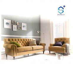 Bộ Ghế Sofa Nỉ Đẹp ( BSF-N1 )