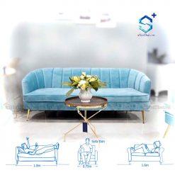 Ghế Sofa Nỉ Đẹp ( SFD-N4-3 )